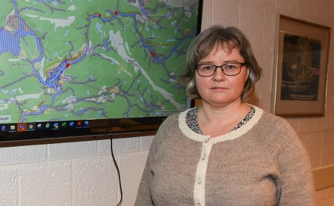 Trude Fridtjofsen sier det jobbes med rimelige frister og det er fokus på god kommunikasjon med Ranas innbyggere.