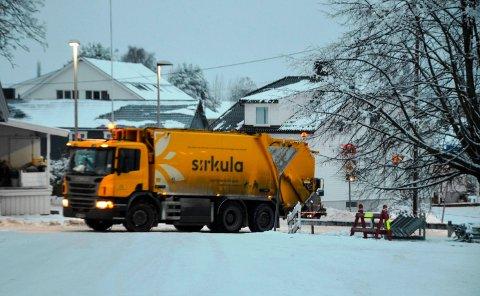 NYE HENTEDAGER: Sirkula innfører fra førstkommende mandag ny hentedag for noen typer avfall.