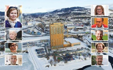 MJØSTÅRNET: 1. mars går den offisielle åpningen av stabelen. RB har spurt ni kjente innlendinger om hva de mener om Mjøstårnet.
