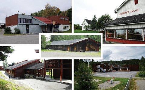 BEFARING: Messenlia, Lismarka, Fagernes, Åsen og Fossen skoler får besøk av politikerne i utvalg for oppvekst i august. Det gjør også Brøttum og Moelv skoler.