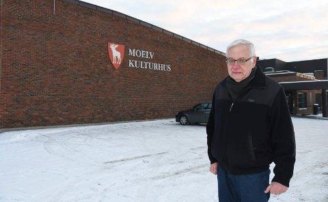 Vil ta tak: Modølen Arve Nordengen er skuffet over at kommunen ikke forlenger samarbeidet med Bygdekinoen i Moelv kulturhus. Samtidig vil han undersøke om noen kan være villig til å drifte kinotilbudet videre. Kanskje er han selv aktuell.