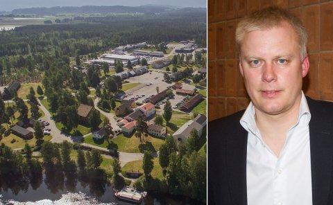 IDEER FOR HELGELANDSMOEN: – Vi er veldig spente på hva de kommer med, sier Morten Pettersen, daglig leder i XPND og Helgelandsmoen næringspark.