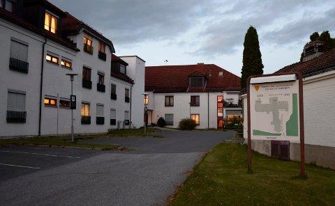 LYSTE UT LEGESTILLING: Ringerike kommune vil bedre kvaliteten på sykehjemstjenestene. Hønefoss sykehjem er et av fem sykehjem i kommunen.