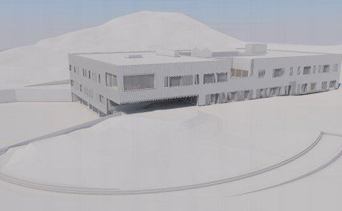 Slik tenker arkitekten seg nye Sydskogen skole.