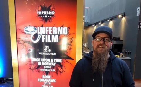 Det beste: Tor Baklund står ansvarlig for kunstutstillingen under årets Infernofestival i Oslo i påsken.