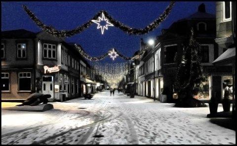 HVIT JUL: Det er stor sannsynlighet for en hvit jul i Sarpsborg i år, skal vi tro Kristian Gislefoss hos Meteorologisk instiutt.