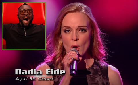 Will I. Am fra Black Eyed Peas ble mektig imponert over Nadia Eides bidrag i engelske The Voice.