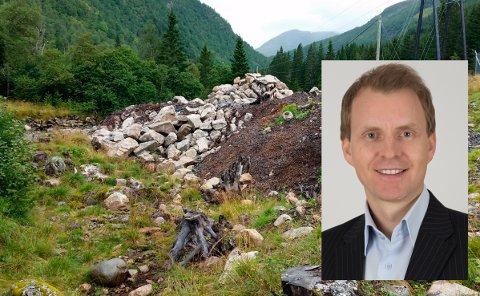 LOVAR: Nettsjef Stian J. Frøiland hjå Sognekraft lovar at oppryddinga skal bli ferdig i løpet av november i år.