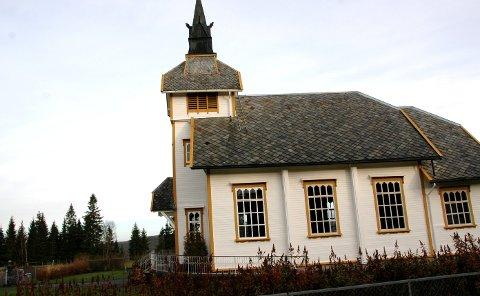 Skraping og maling av Bodom kapell i Øvre Ogndal står øverst på prioriteringslisten for koronatilskuddet til Steinkjer kirkelige fellesråd.