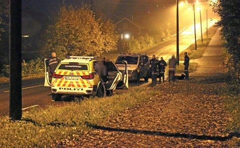 PÅGREPET: Mannen fra Skien og kvinnen fra Arendal ble pågrepet etter en biljakt, natt til fredag. Det er uklart hvorfor de stakk av fra politikontrollen.