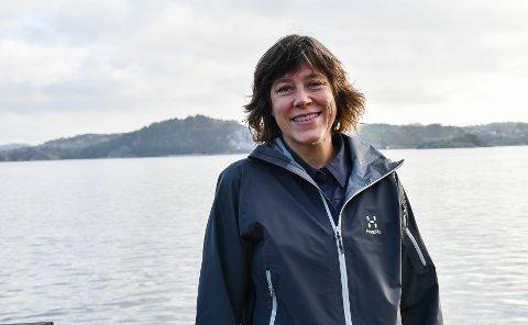 GÅR FRAMOVER: Plan- og bygningssjef Grethe Krokstad ser en positiv utvikling i arbeidet med å hente inn etterslepet.