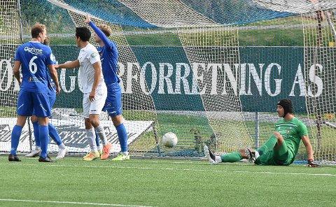 UTE AV SPILL: Keeper Espen Vasby spiller ikke mot Fram.