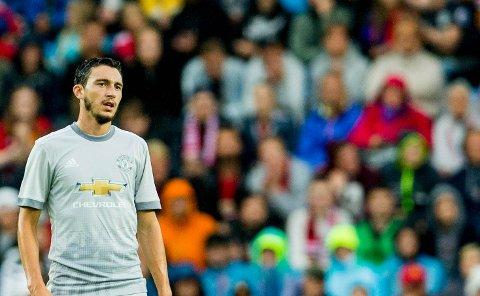 Matteo Darmian fikk til sammen 92 kamper for Manchester United. Nå forlater han Ole Gunnar Solskjær & co. til fordel for italienske Parma.