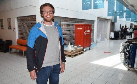 Administrerende direktør Lars Ove Løseth i Aurora Eiendom AS.