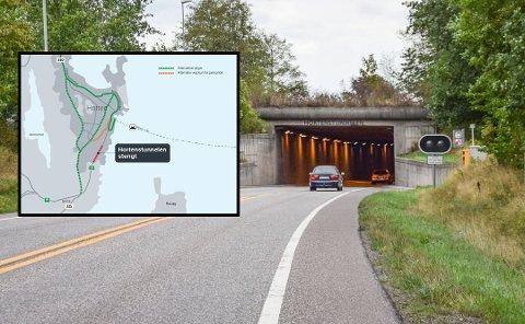 STENGES: Tunnelen skal oppgraderes til EU-standard. Det må nødvendigvis ta den tiden det tar - nesten en måned - fra 15. oktober til 12. november.
