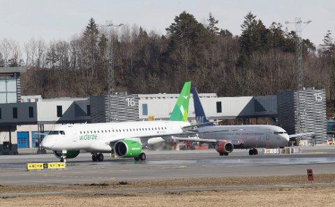 Bakkemannskaper fra Widerøe på 14 flyplasser er permittert som følge av streiken i SAS.