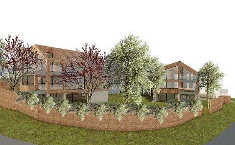 KLAGET INN: Planene for Ringshaugveien er klaget inn til kommunen.