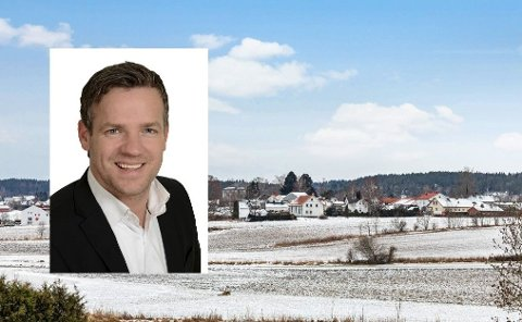 BRA SALG: Det er stor etterspørsel etter boliger  for tiden, kan Henning Grødem i Z-eiendom bekfrefte.