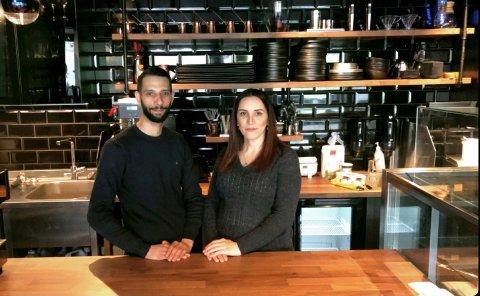 ANDRE BEDRIFT: Alae Shaban og kona Riham har god erfaring med å drive bedrift sammen. Nå satser de på lunsjkafé i sentrum.
