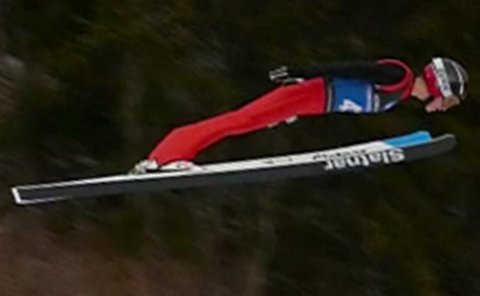 Sterk hopping: Flere valdriser, deriblant Eirik Leander Fystro, hevdet seg meget godt i Granåsen sist helg.