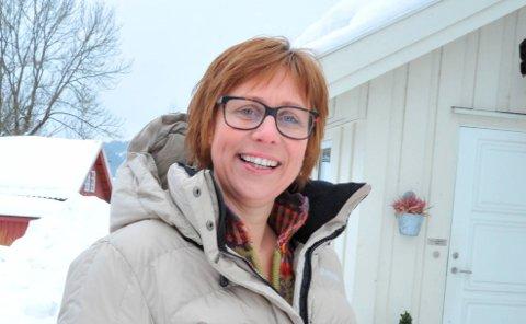 NYLEDER:Kari Frank har blåst nytt liv i Nittedal og Hakadal Bygdekvinnelag.