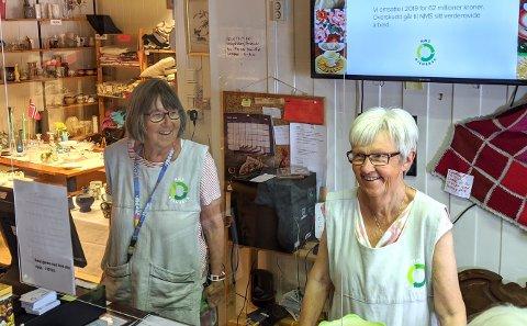 KLART IGJEN: Etter tre måneder med koronastengte dører, åpnet den populære gjenbruksbutikken igjen på tirsdag.