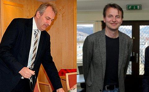 Kjell Ivar Hansen Røsnes og Trond A. Larsen avsluttet i sommer samarbeidet med Danny Hayes. Foto: Per Torbjørn Jystad