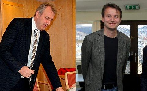 Kjell Ivar Hansen Røsnes og Trond A. Larsen brøt samarbeidet.