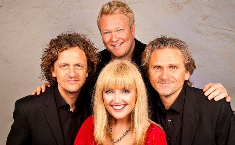 Julekonsert med Hanne Krogh og de tre tenorene Nils Harald Sødal, Thomas Ruud og Marius Roth Christensen
