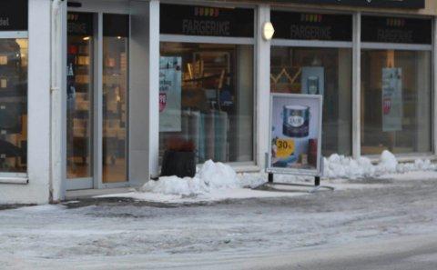 Butikken stenger dørene mandag 29. april.