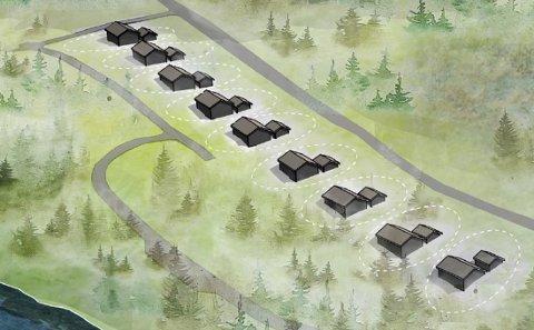 Halvannet år etter bystyrevedtaket om hytter på Kvalnes ved Skjerstad,  er det ennå lenge til punktum settes i klagesakene.