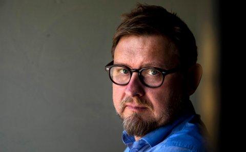 """Oslo  20190429. Fredrik Virtanen har skrevet boken """"Uten nåde"""" om å bli fanget i Metoo-vinden i Sverige. Foto: Tore Meek / NTB scanpix"""