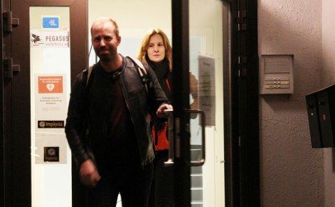 Håkon Møller og Paro Lyngmo forlot møtet klokken 22.10. Møller avslørte at styret var enstemmig.