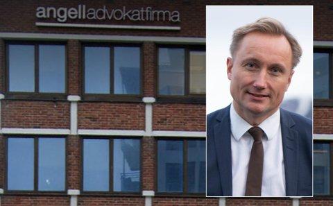 Daglig leder Bjørn Storli i Angell Advokatfirma