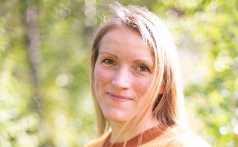 Jeanette Grønnslett i Anue.