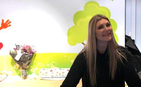 Lena Ludvigsen håper på en god strøm med kunder i de kommende ukene før jul.