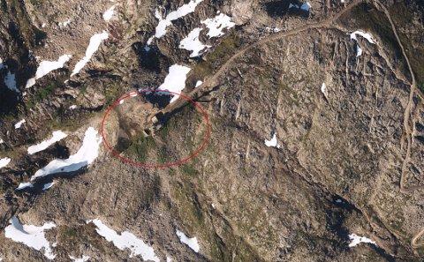Basestasjonen ligger 873 meter over havet.