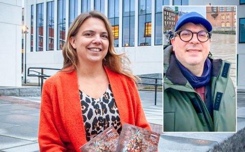 Leder Trud Berg for Stormen bibliotek og Direktør Rasmus Adrian for Stormen konserthus slår seg på lag og har bestemt seg for et tettere samarbeid gjennom Stormenkvartalet, et løft for felles arrangementer og fremtidig samarbeid.