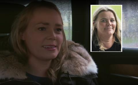 Skjermdump fra TV2 Nyhetene (Cecilie innfelt).