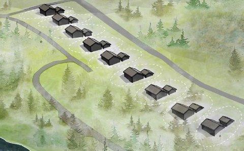 Det har vært strid om hytteområdet på Kvalnes i mange år. Områdets betydning for sau og rein er noe av stridens kjerne.