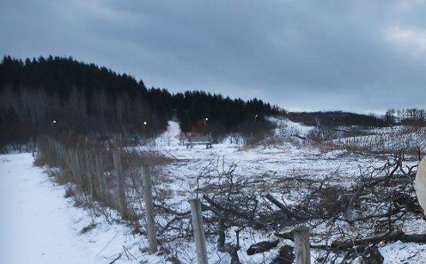 Odd Knutsen ble aket ned i området ved jernbanebrua i Maskinisten i Bodø.