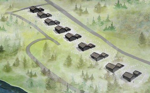 I ni år har Johan Hernes kjempet for å få gjennomført en større hytte-utbygging på Kvalnes.