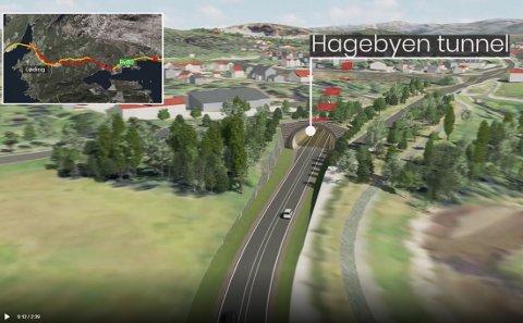 Prosjektet med ny vei mellom Bodø og Fauske er omtalt i NTP. Men det er kun penger til en delstrekning.