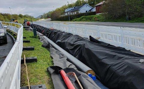 Arbeidet i Bodøsjøen intensiveres nå.