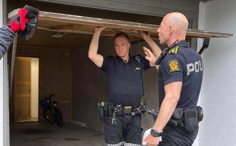 Politiet rykket ut til Mørkved.