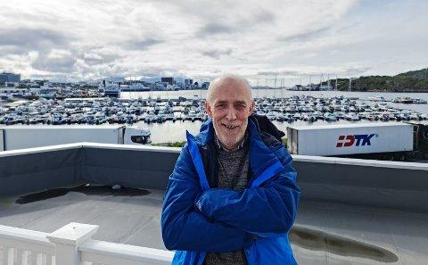 Henger med: Kyrre Jacobsen (59) har vært med på hele utviklingen fra 2019, og gleder seg stort over de positive resultatene de leverer.