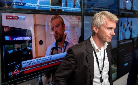 TV 2-sjef Olav T. Sandnes har kalt inn sine ansatte til allmøte tordag. (arkiv)