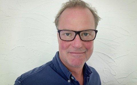 Øyvind Thomassen var Sbankens første sjef. I høst var han tilbake i sjefsstolen. Foto: (Sbanken)