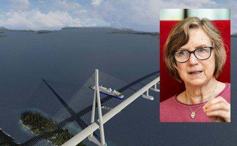 Bystyrerepresentant Mona Høgli mener veivesenet kan ta seg en bolle.