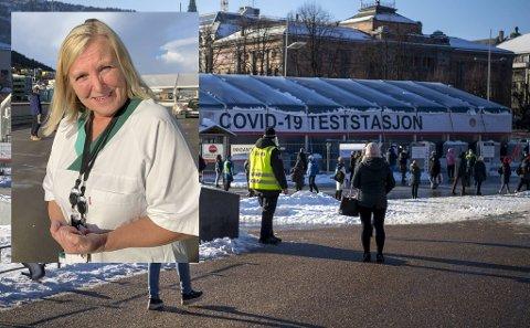 Sjefen for legevakten i Bergen, Dagrun Linchausen, forteller at en ikke trenger å teste seg om en kun skal på dagstur, på hytten eller hotell i vinterferien.